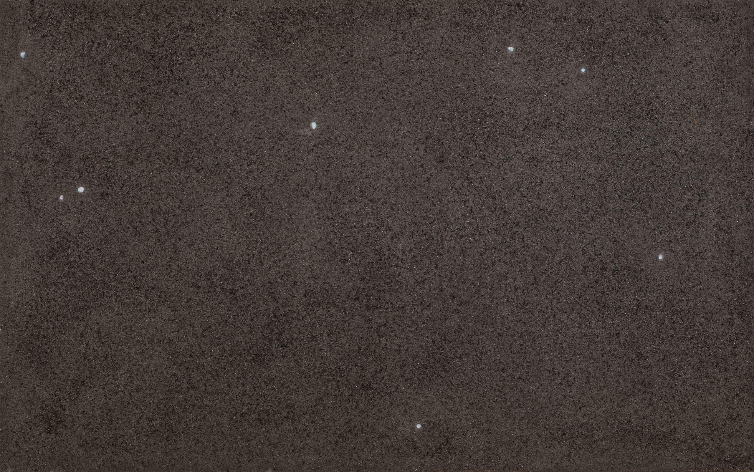 Zhang Huan, Ash Painting No. 5, 2006