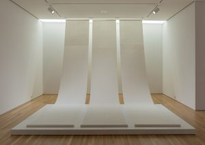 Zhang Yu, Fingerprints, 2008. Installation view, The Allure of Matter: Material Art from China, Wrightwood 659.