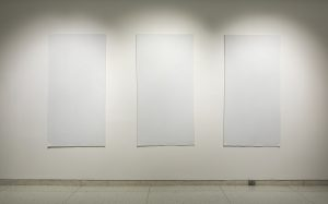 Liu Jianhua, Blank Paper, 2009–12. Installation view, The Allure of Matter: Material Art from China, Smart Museum of Art