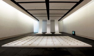 Zhang Yu, Fingerprints, 2008. Installation view, Kandu Museum of Fine Arts, Tapei, 2009. Photo courtesy of the artist.