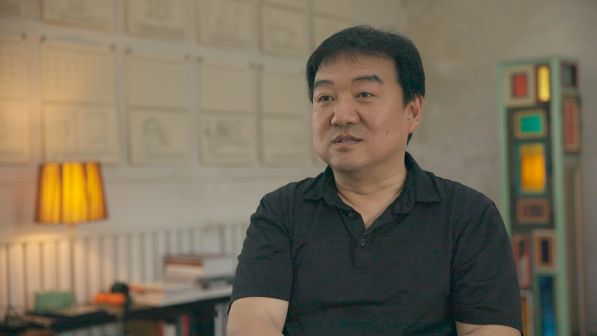 An interview with Song Dong