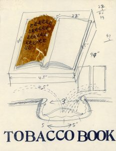 Xu Bing, Study for Tobacco Book, 1999. Photo courtesy of Xu Bing studio.