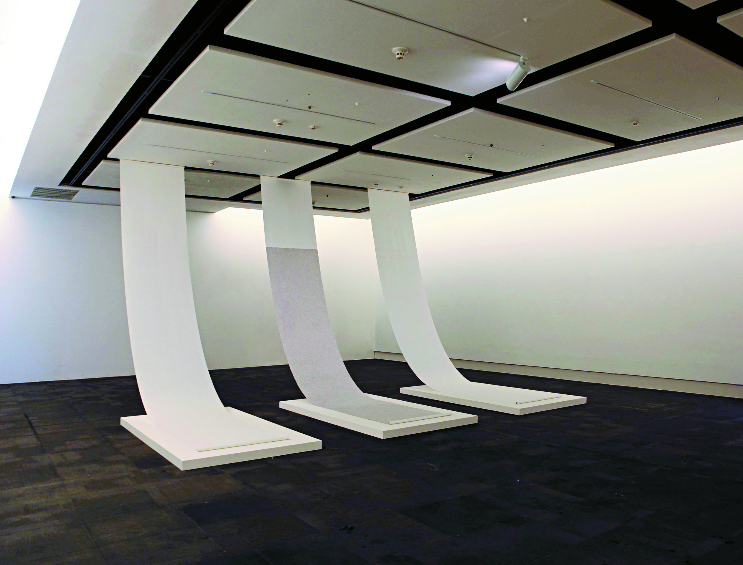 Zhang Yu, Fingerprints, 2008. Installation view, Kandu Museum of Fine Arts, Tapei, 2009. Courtesy of the artist.
