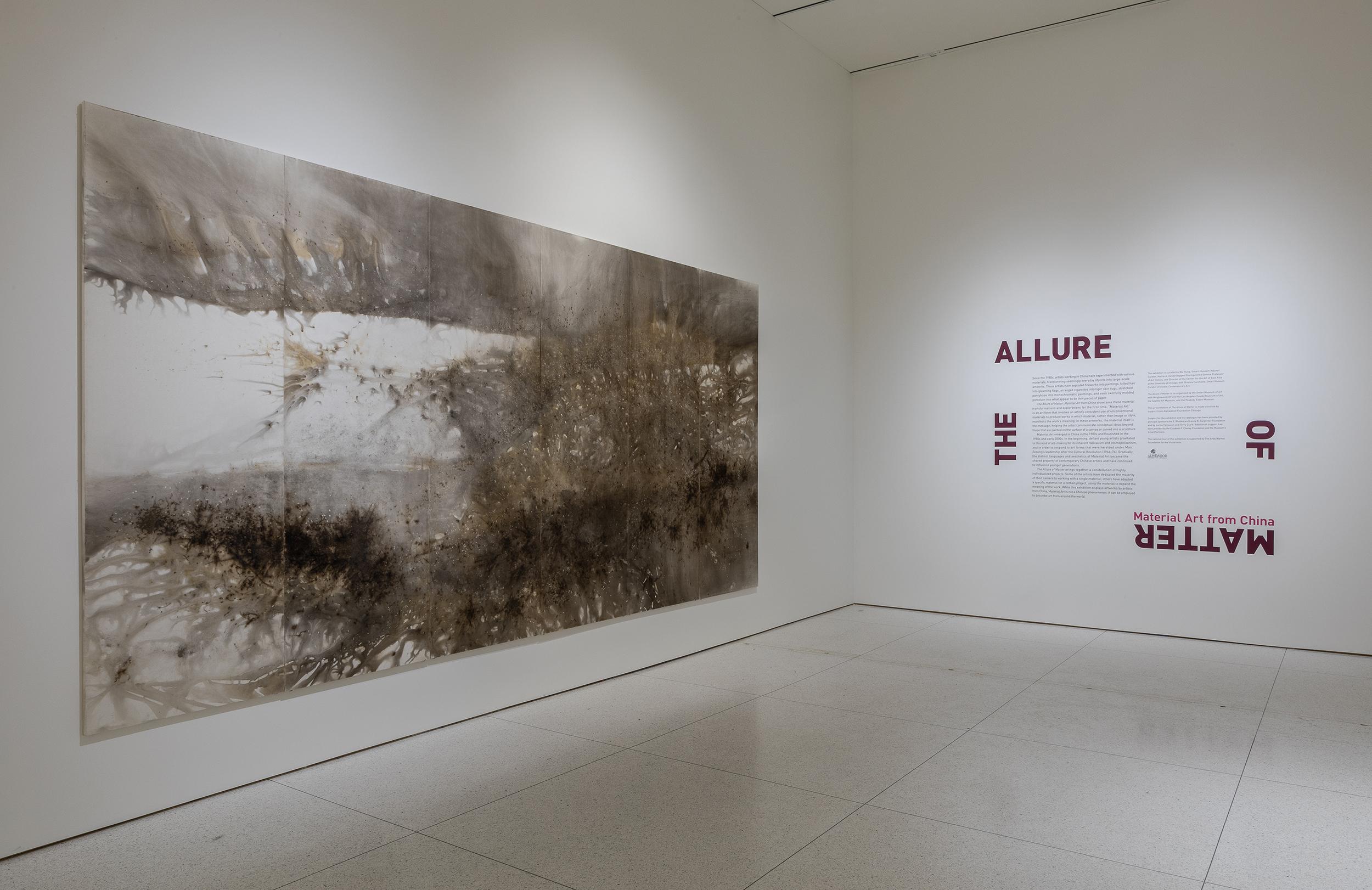 Cai Guo-Qiang, Mountain Range, 2006