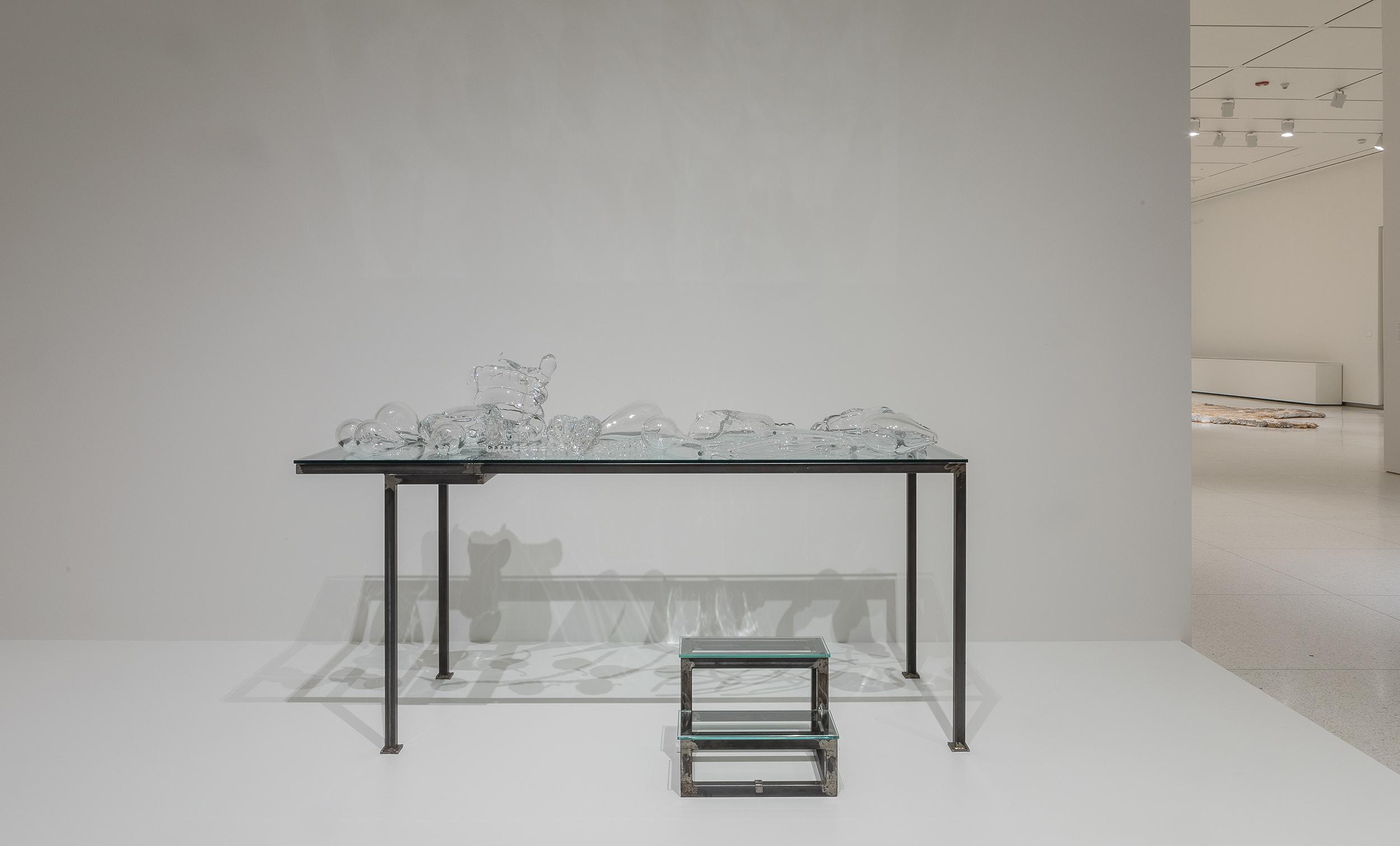 Chen Zhen, Crystal Landscape of Inner Body, 2000