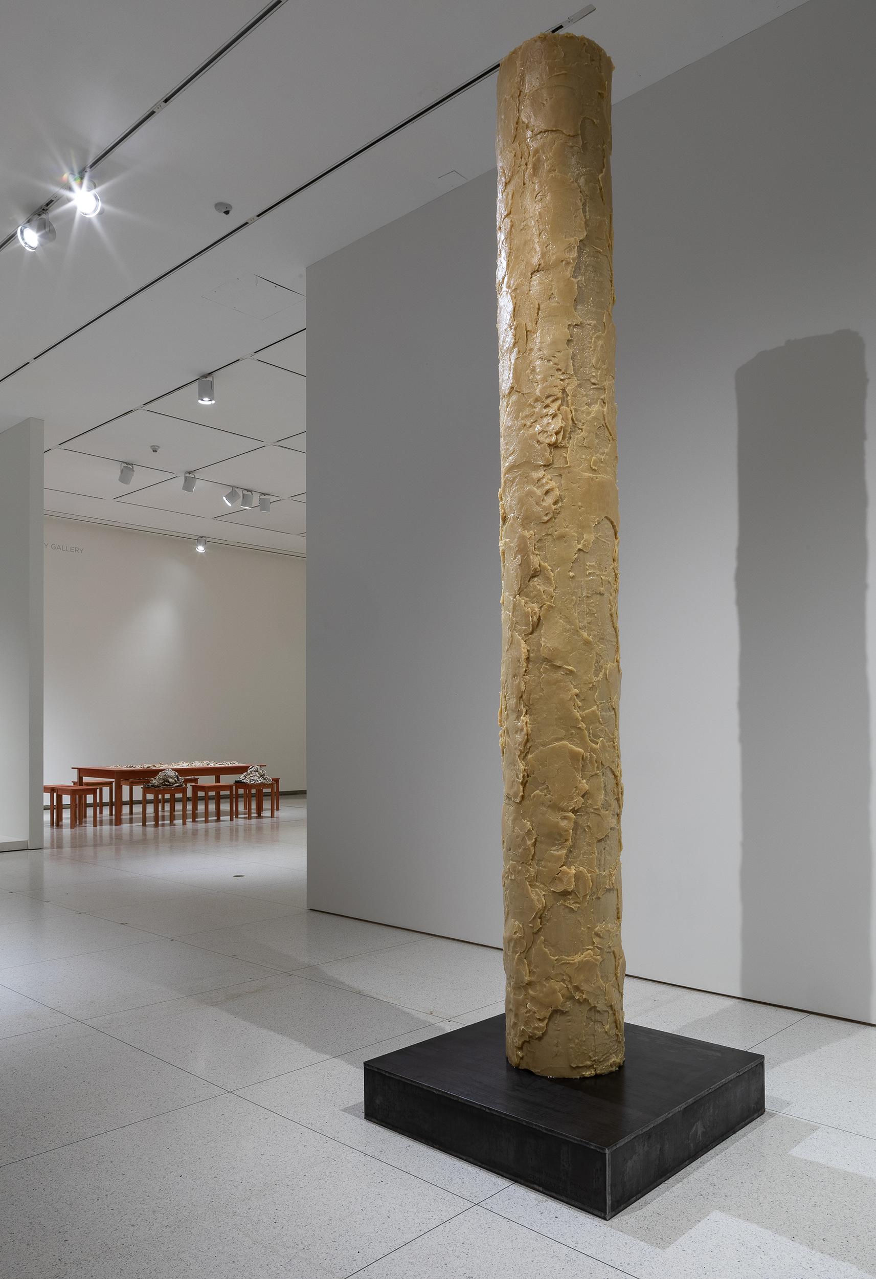Sun Yuan and Peng Yu, Civilization Pillar, 2001/2019