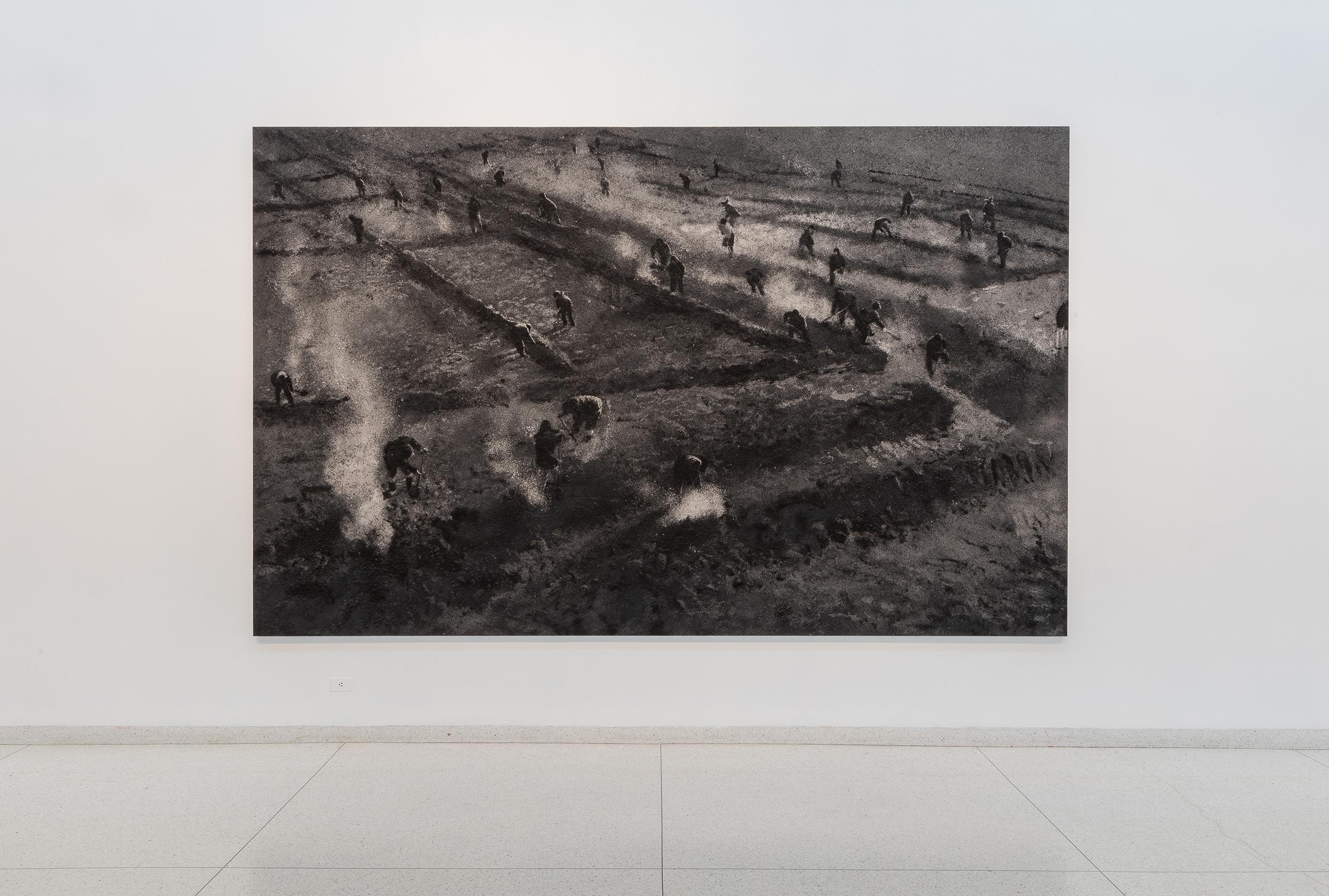 Zhang Huan, Seeds, 2007